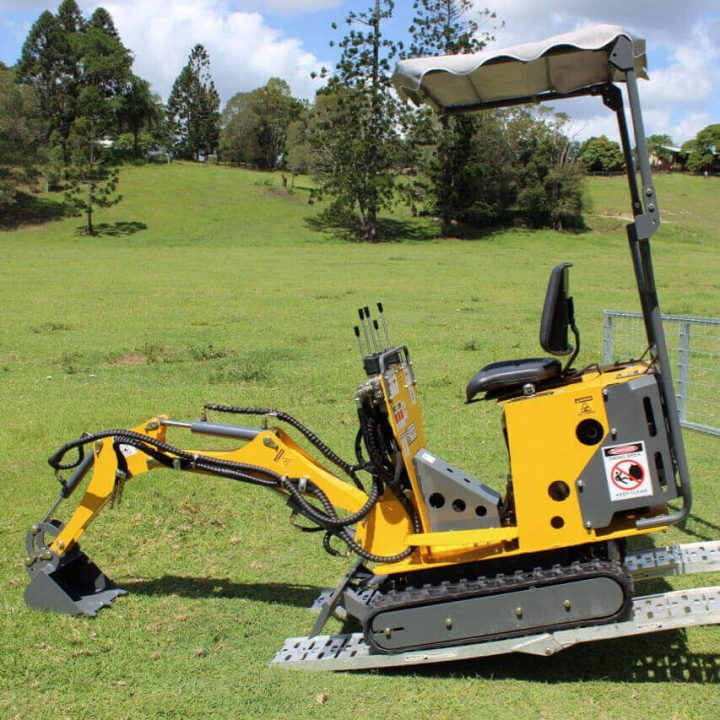 Ozziquip Tiger Micro Excavator | Construction Machinery For Sale | Australia | Machinery Direct