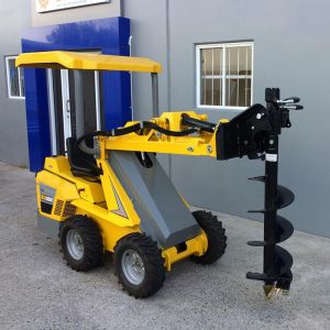 Ozziquip Puma Mini Loader Fencers | Construction Machinery For Sale | Australia | Machinery Direct