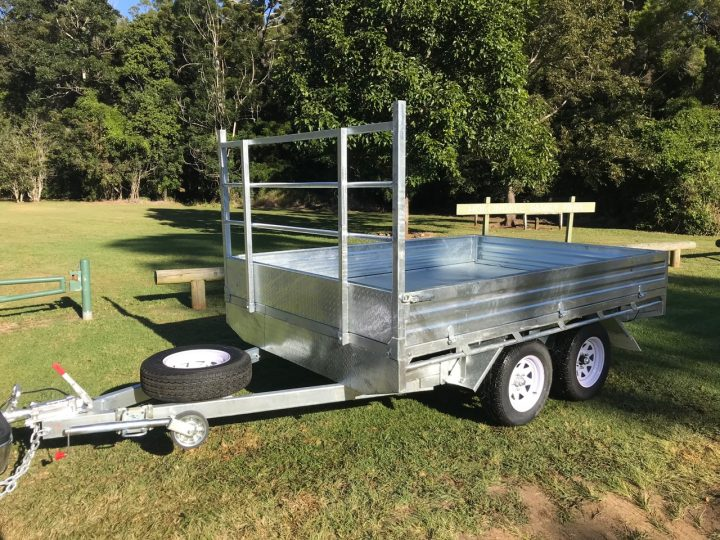 10 x 7 Flat Top Trailer | Construction Machinery For Sale | Australia | Machinery Direct
