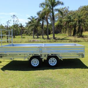 14 x 7 Flat Top Trailer 3000kg | Construction Machinery For Sale | Australia | Machinery Direct