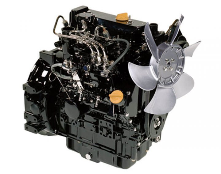 Japanese Yanmar 3TNV76 Diesel Engine