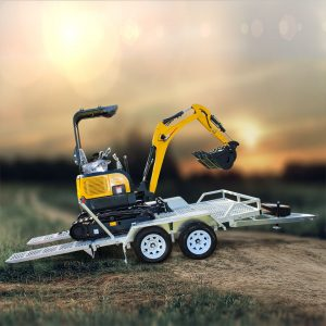 Carter CT16 Mini Excavator with Trailer package