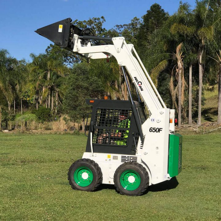 Bobcat Attachment Compatible Skid Steer 650F | Construction Machinery For Sale | Australia | Machinery Direct