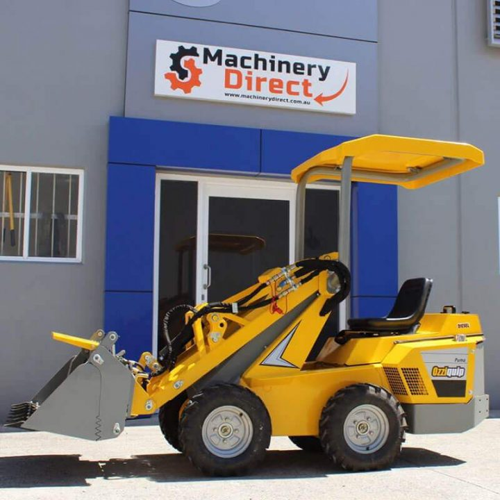 Ozziquip Puma Mini Loader | Construction Machinery For Sale | Australia | Machinery Direct
