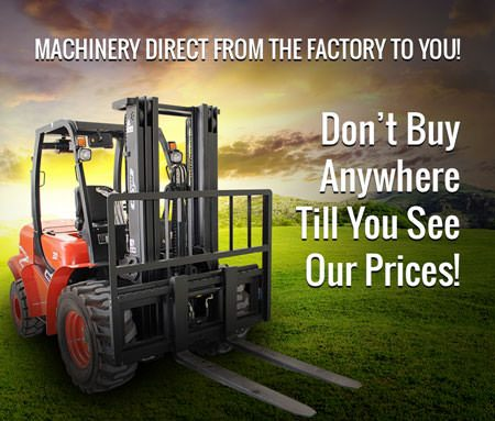 Construction Equipment and Machinery Sales Direct from the Factory to You! Don't buy anywhere till you see OUR prices!