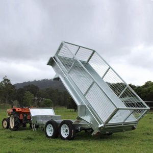 Ozzitrailer 10x5 Hydraulic Tipping Trailer | Construction Machinery For Sale | Australia | Machinery Direct