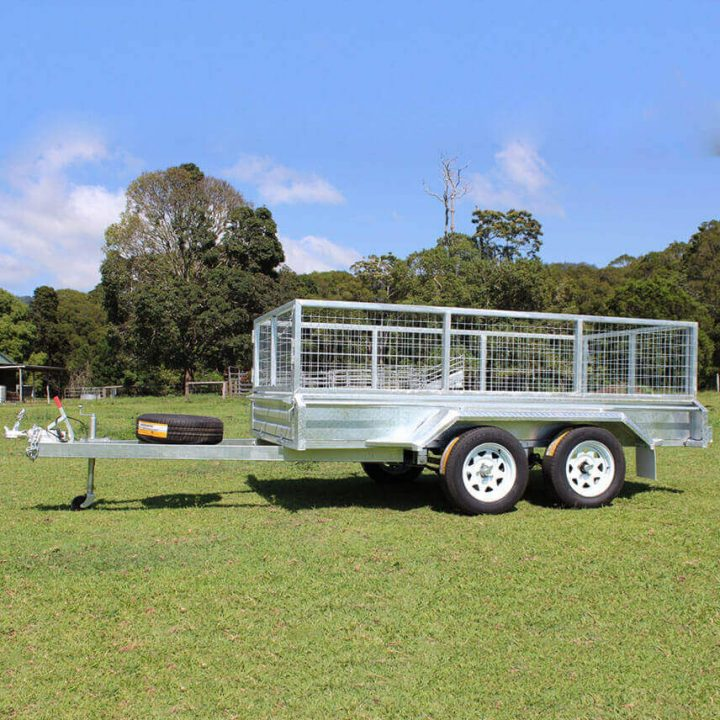 10x5 Tandem Axle Box Trailer | Construction Machinery For Sale | Australia | Machinery Direct