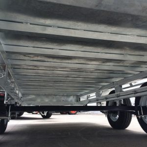 14x7 Flat Top Galvanised Trailer undercarriage.