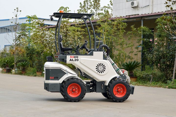 Ozziquip AL40 Mini Articulated Wheel Loader with no arm.