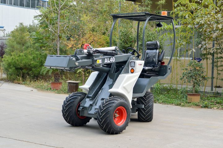 Ozziquip AL40 Mini Articulated Wheel Loader